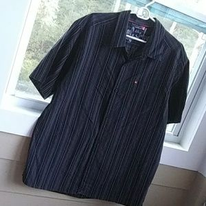 Quicksilver Short Sleeve Button Down Shirt